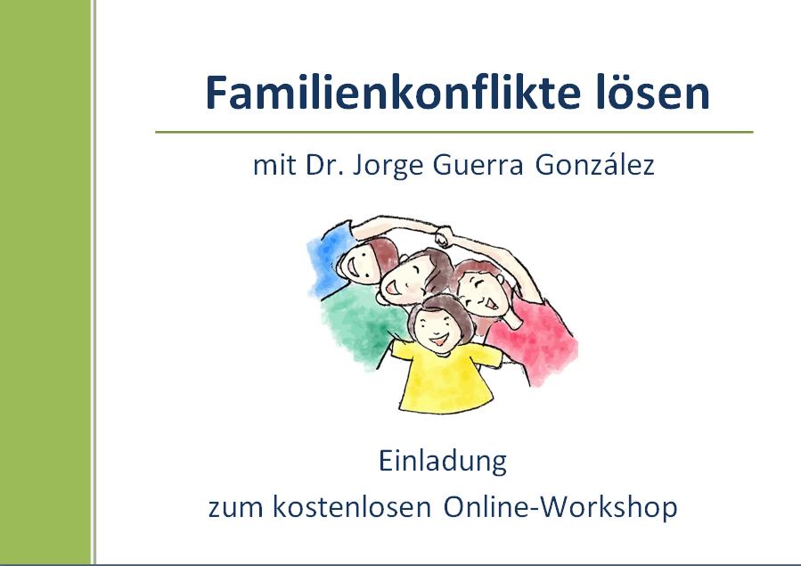 Familienkonflikte lösen Workshop 2021